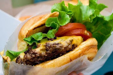 The SHAKE SHACK BURGER