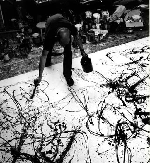 jackson pollock jack the dripper essay Belangrijke kunstenaars zijn jackson pollock,  het leverde hem de bijnaam 'jack the dripper' op naast  ontleend aan een essay uit 1950 van michel.