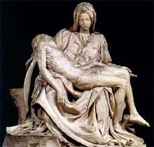 La Piedad de la basilica de San Pedro del Vaticano