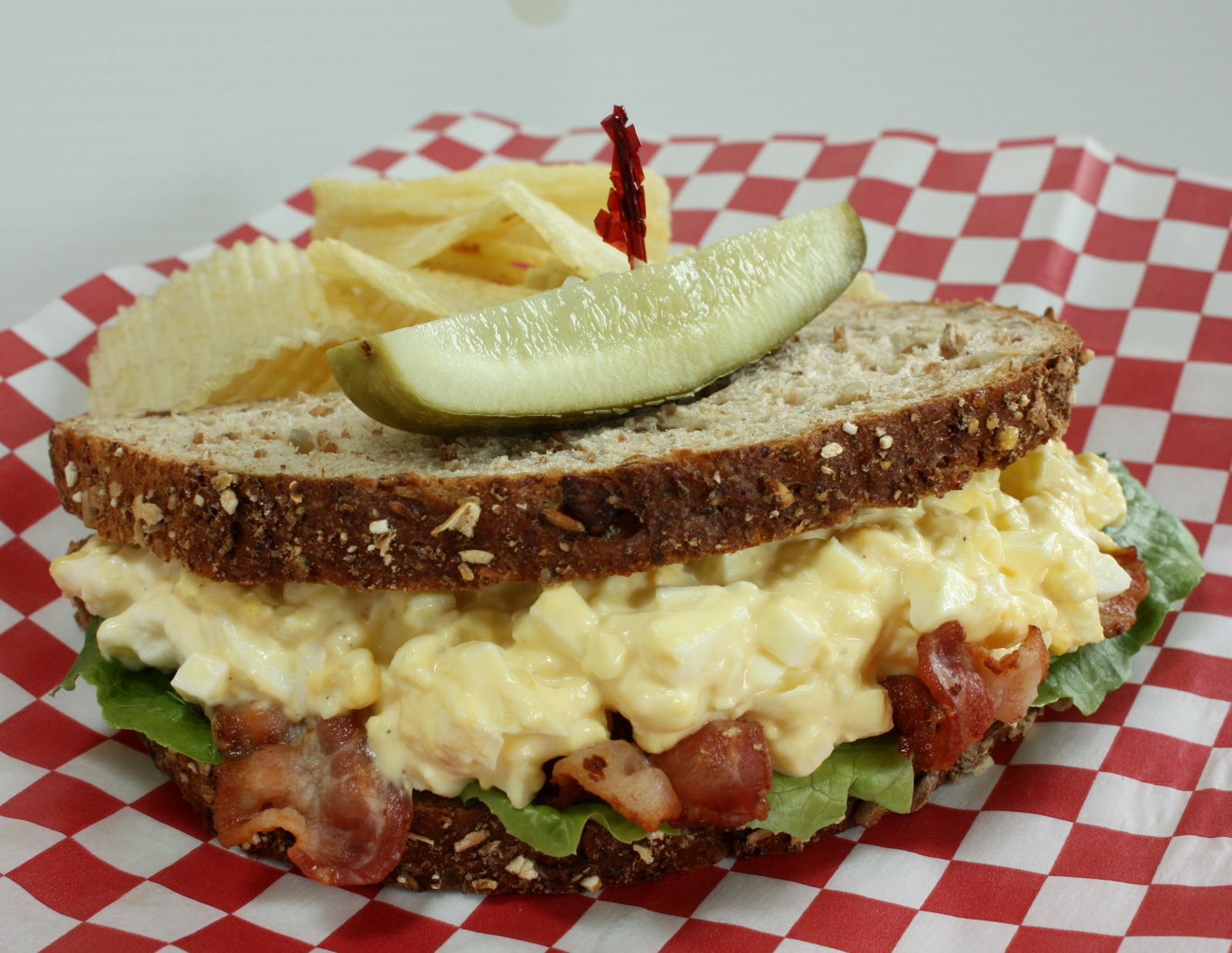The Classic All American Egg Salad Sandwich | Wives with Knives