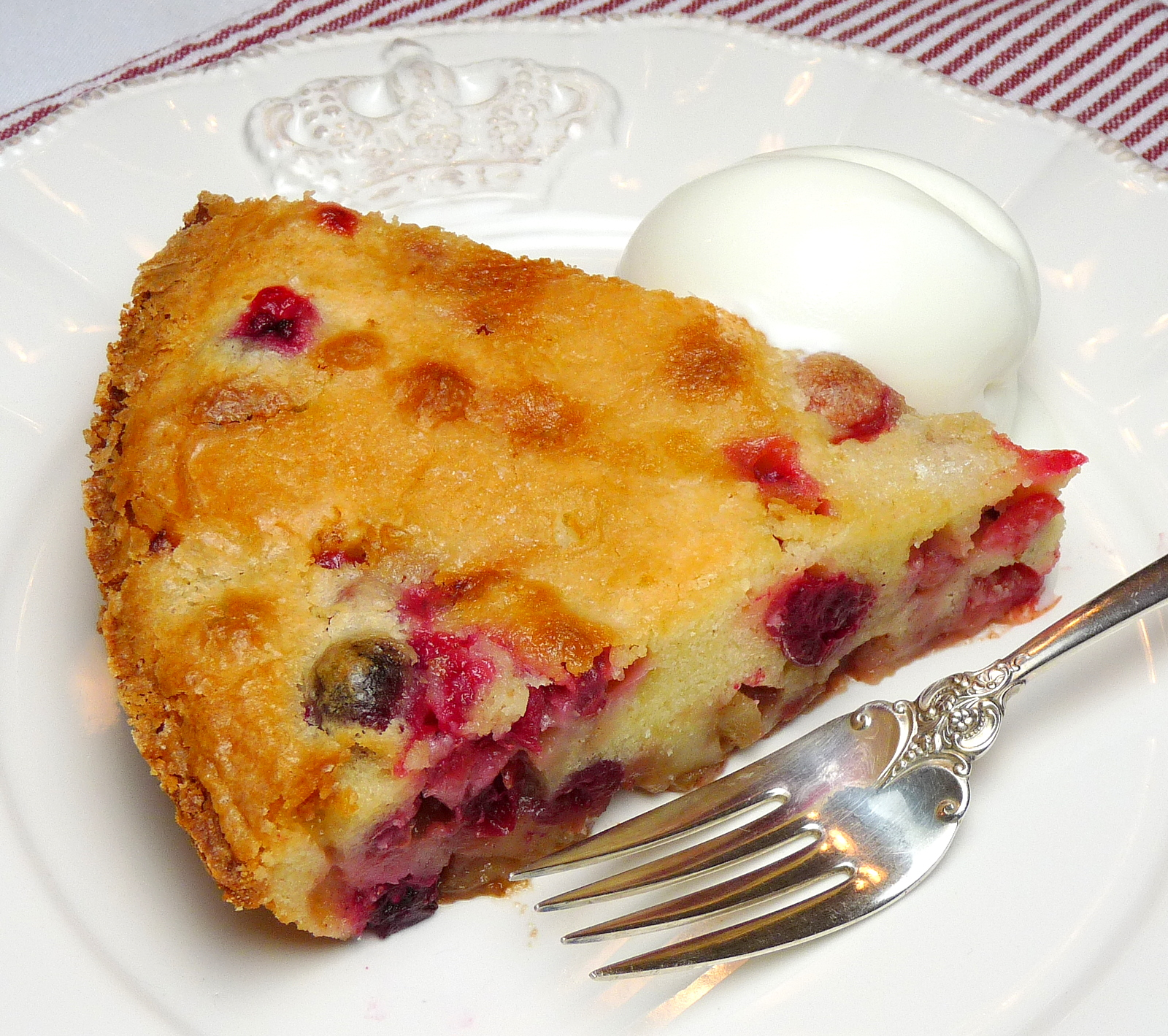 Ina's Easy Cranberry Apple Cake | Wives with Knives