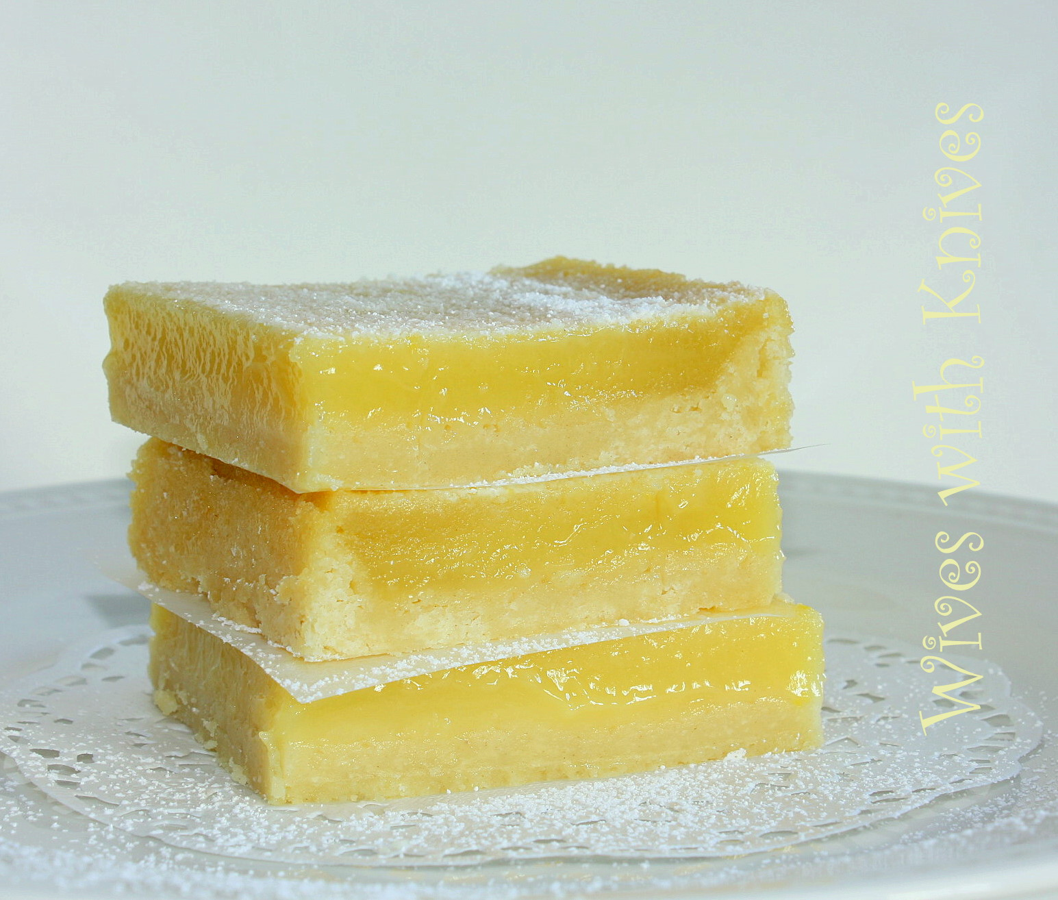Luscious Lemon Bars | Wives with Knives