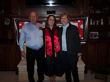 Nana and Bert with Ashley at Graduation