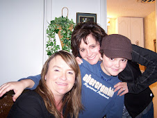 Kelly with Aimee and Brandon
