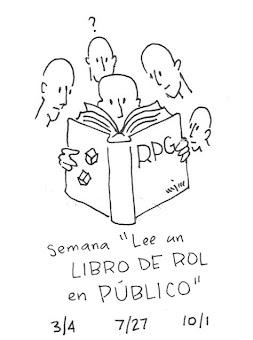 """Semana """"Lee un Libro de Rol En Público"""""""