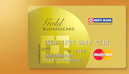 Information about hdfc credit cards in india hdfc gold business credit card features benefits reheart Images
