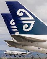 Air NZ tailfins