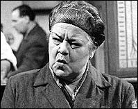 the dragon lady herself, Ena Sharples