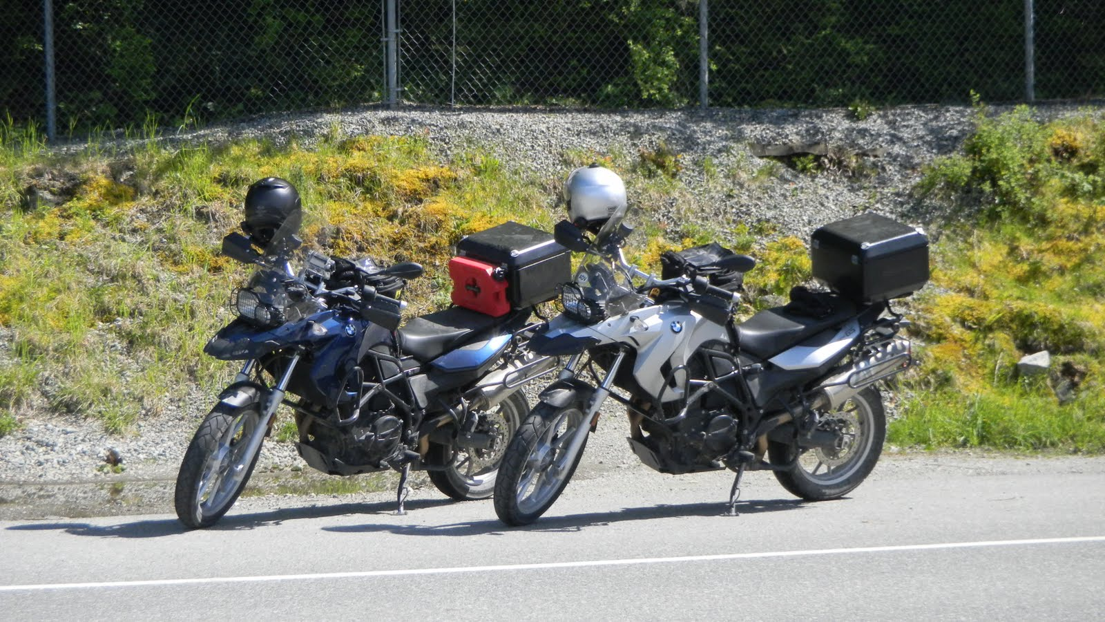 2010 BMW F650GS Cross Country Trip July August 2010 June 2010