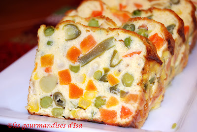 Cake Macedoine Et Thon Marmitno