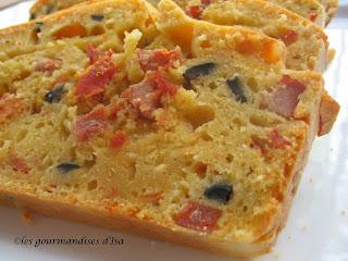 Cake Chorizo Tomates Sechees Chevre