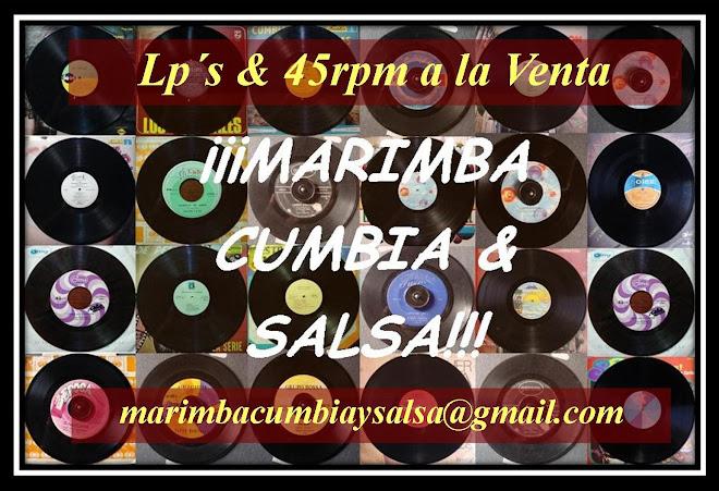 Marimba, Cumbia & Salsa Vinyl