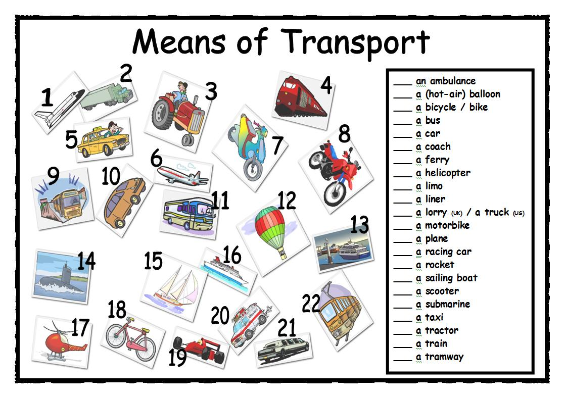 vocabulary of travel and transportation english for tourism g 3