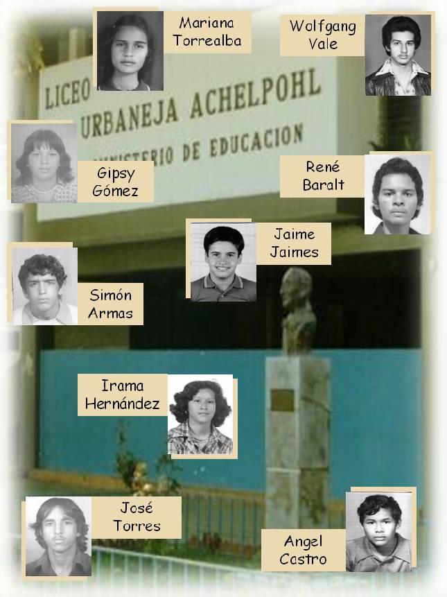 FOTOS LUA 1978. Grupo III.