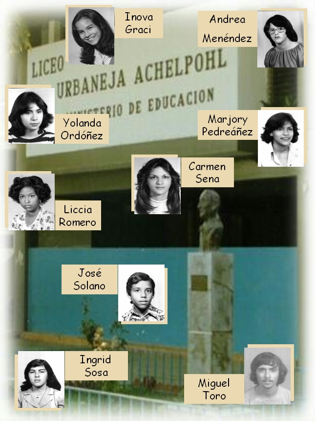 FOTOS LUA 1978. Grupo II.