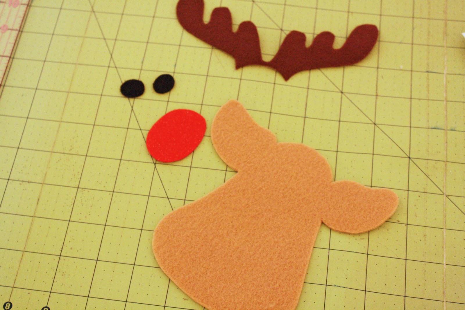 Reindeer Face Template | New Calendar Template Site