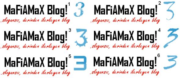 MaFiAMaX Blog! logo 3 yl yarışması