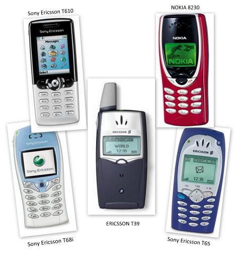 Cep telefonu kolajı