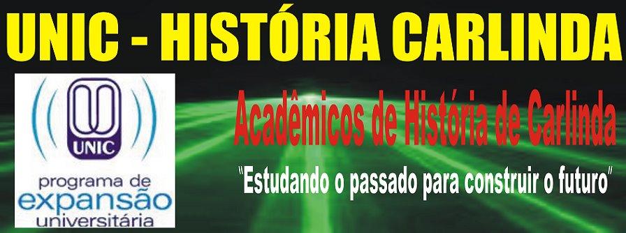 "UNIC historia Carlinda ""Origem Histórica"""