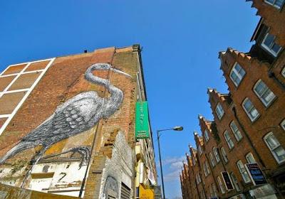 Animal Graffiti Street Art