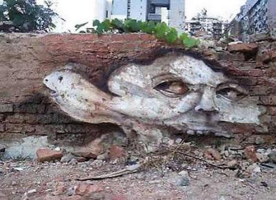 Graffiti Wildstyle On Brick Wall