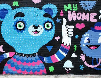 Cute Graffiti Art By Zetka Collective