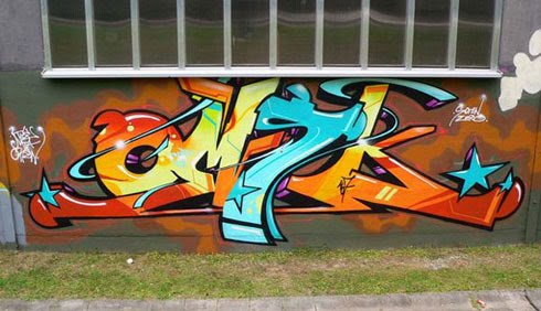 OMSK's Graffiti