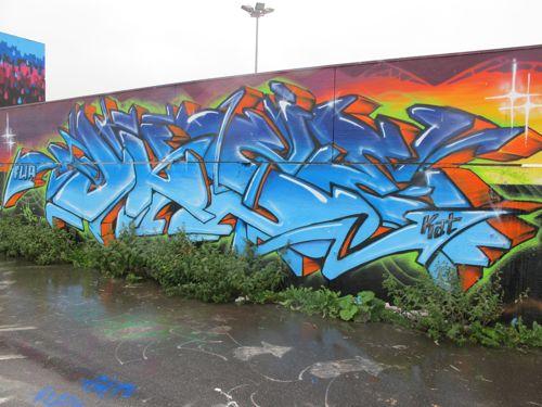 Graffiti Alphabet Wildstyle By Kat