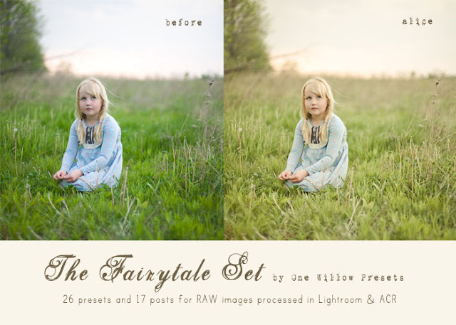One Willow Fairy Tale Collection Lightroom Presets