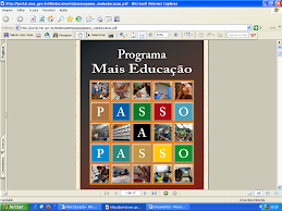 """PROGRAMA  """"MAIS EDUCAÇÃO"""""""