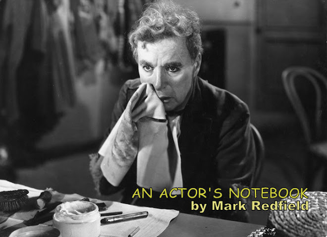 An Actor's Notebook by        Mark Redfield