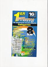 Corrida San Alberto Paraguai..16/11/2008