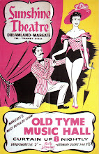 DREAMLAND ON STAGE 1: POSTER FOR THE OLD TYME MUSIC HALL AT THE SUNSHINE THEATRE c. 1956-7