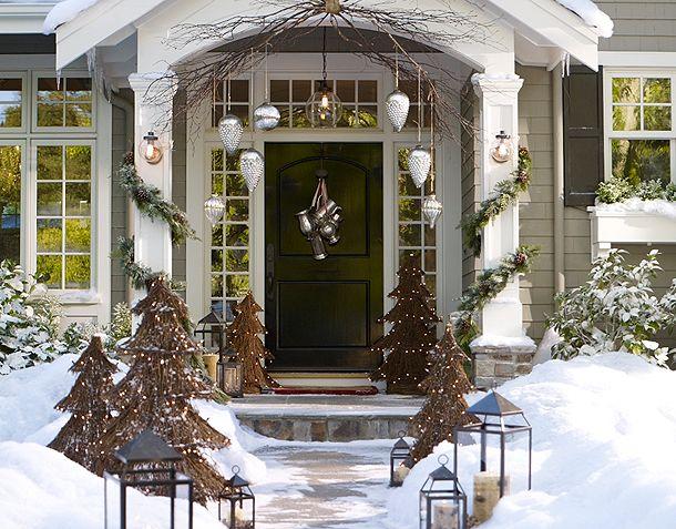 El blog de tit inspiraci n decoraci n navide a exteriores - Decoracion exterior navidena ...