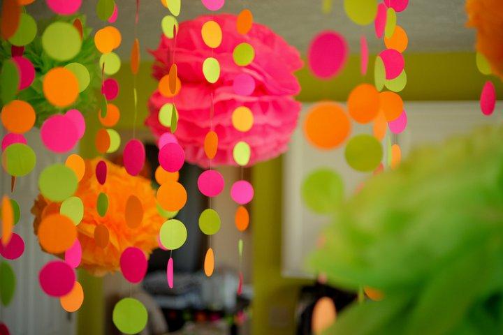Birthday ideas girls on pinterest polka dot birthday for Pink polka dot decorations