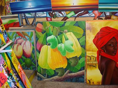 quadros com pinturas tropicais