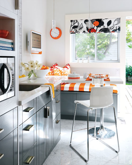 23 Best Cottage Kitchen Decorating Ideas And Designs For 2019: Mesa Com Cadeiras E Bancos: Tudo Junto !!!
