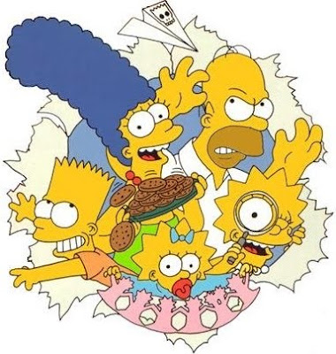 The Simpsons Cartoon Movie Wallpaper