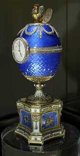 Karl Fabergé - Chanticleer Clock Egg (1903)