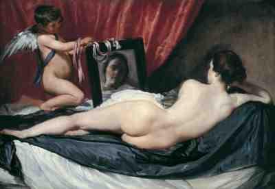 Diego Velázquez - Venus With Mirror (the Rokeby Venus)