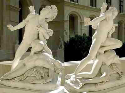 Jean-Baptiste Roman - Nisus et Euryale (1827) 2 views