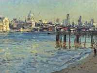 Not the stolen work, but one showing a similar view of the Thames