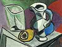Picasso - Verre et Pichet (Glass and Pitcher)