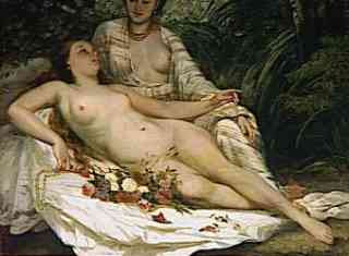 Gustave Courbet - The Bathers (1858)