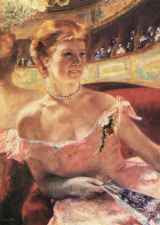 Mary Cassatt - Lydia at the Theatre (1879)