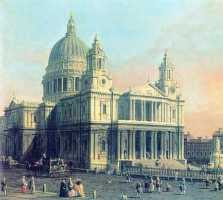 Antonio Canaletto - St Paul's Cathedral, London