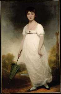 Ozias Humphry - Jane Austen (1788 or 1789) known as The Rice Portrait