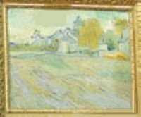 Vincent Van Gogh - Vue de l'Asile et de la Chapelle de Saint-Remy (1889)