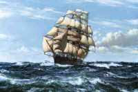 Montague Dawson - Racing Home: The Cutty Sark