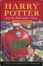 Cover of Harry Potter and The Philosopher's Stone (1997)